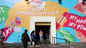 pintu masuk Beauty Tent Jakarta x Beauty