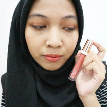 Matte Lip Liquid Esqa Cosmetics Shade Peachy Pop