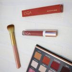 Review Matte Lip Liquid Esqa Cosmetics Shade Peachy Pop