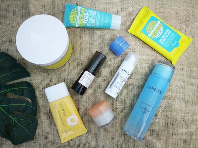 Skincare Routine Juni 2020 Mengatasi Bruntusan dan Bekas Jerawat