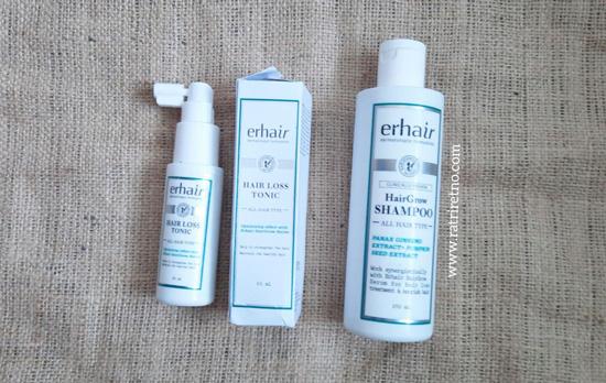 Erhair HairGrow Shampoo dan HairLoss Tonic