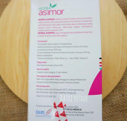 Informasi Herba ASIMOR