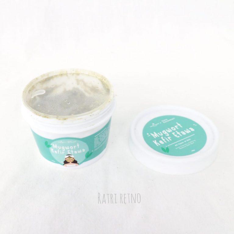 Packaging Masker Mughwort Kefir Etawa