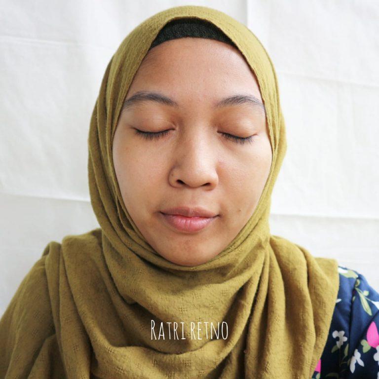 Setelah Pemakaian Masker Mughwort Kefir Etawa