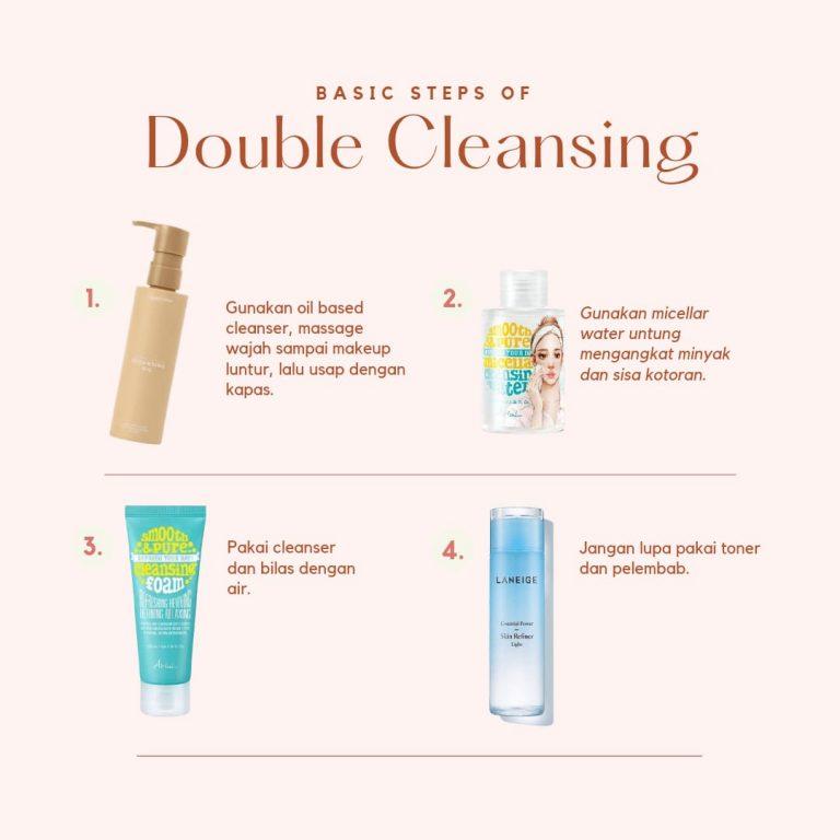 Double Cleansing Untuk Mencegah Maskne