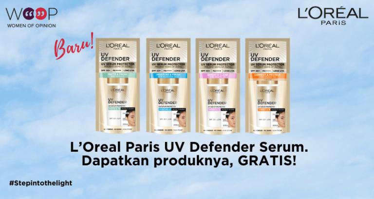 L'Oreal UV Defender Serum Protector