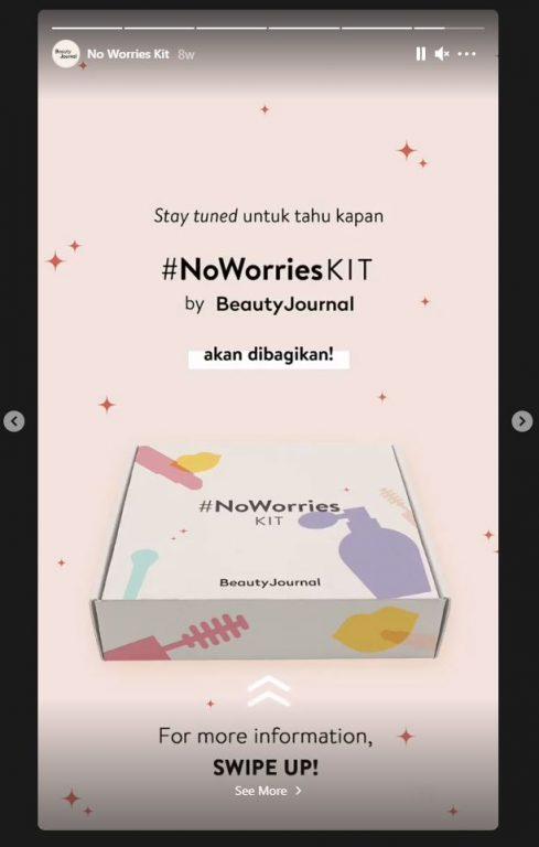 No Worries Kit Beauty Journal