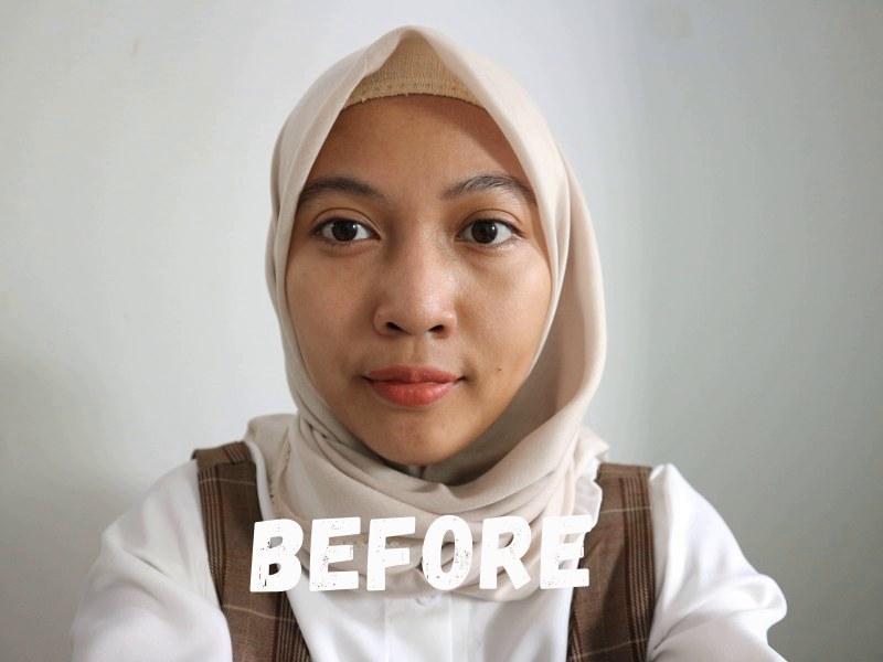 Before - Multipurpose Tinted Sunscreen BLP x Avoskin