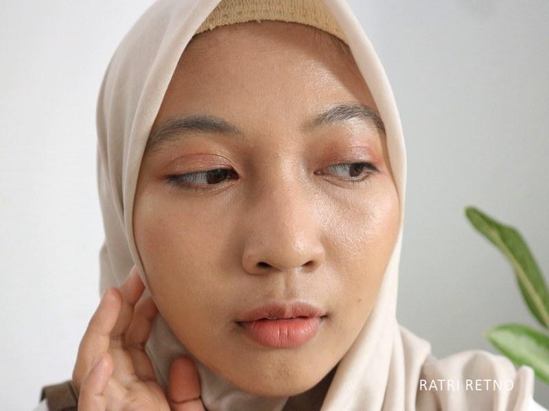 Zoom Hasil Pemakaian Multipurpose Tinted Sunscreen BLP x Avoskin
