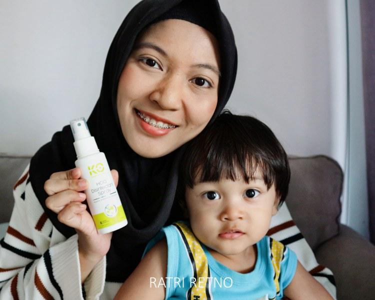 Disinfectant Spray yang Aman Untuk Bayi