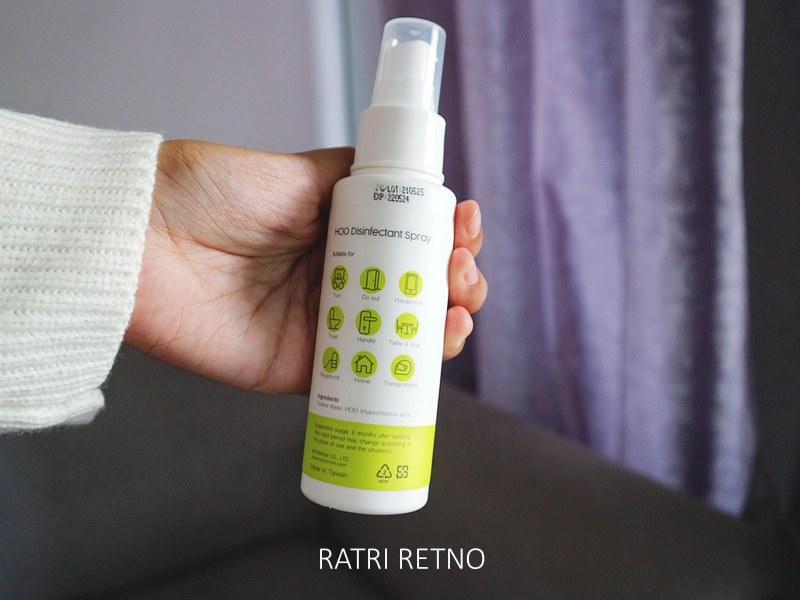Petunjuk Penggunaan KO Virus Disinfectant Spray